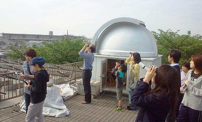 ■みんなで金環日食観測
